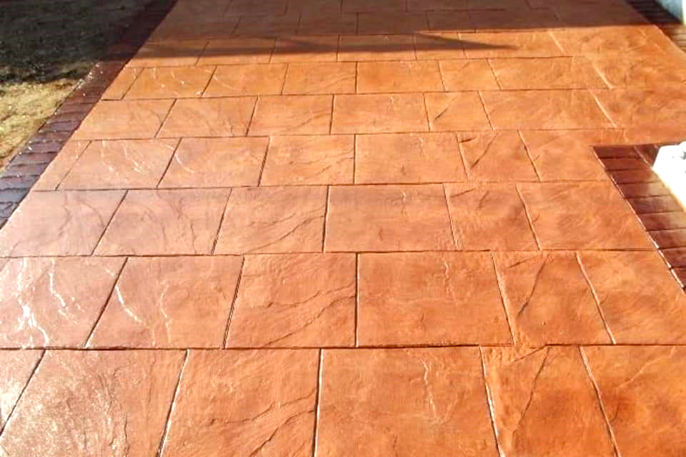 Printed Concrete in Moraira