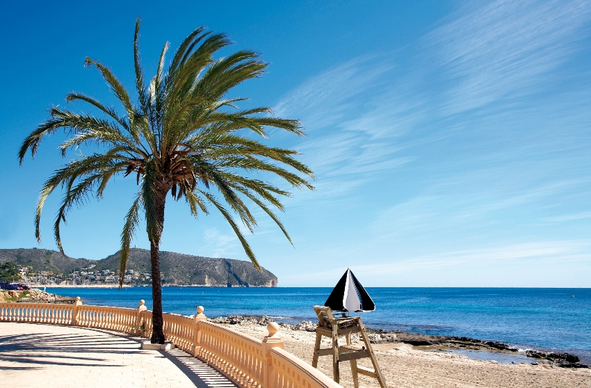 Platjetes Beach in Moraira