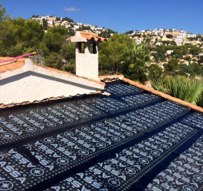 Roof Waterproofing Moraira Costa Blanca