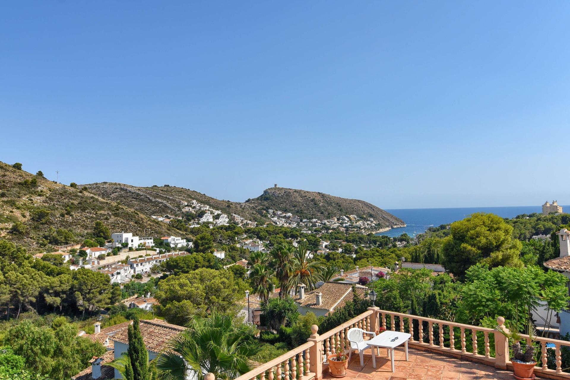 Sea View Villa for sale in El Portet Moraira
