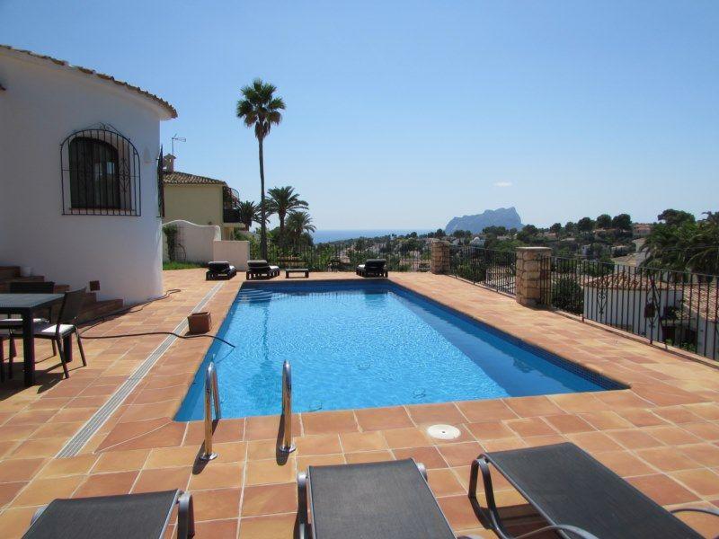Sea View Villa for sale in San Jaime Moraira