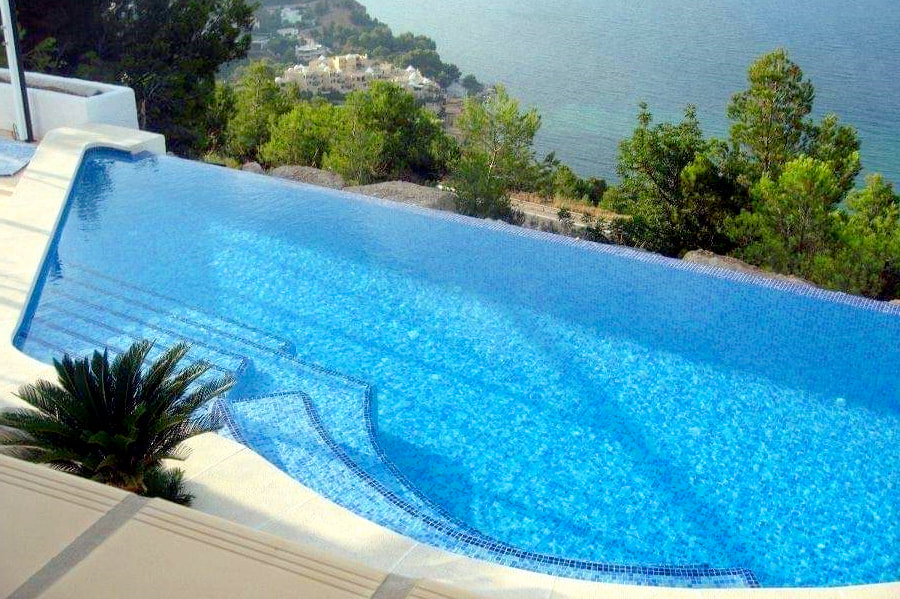 New Pool in Moraira
