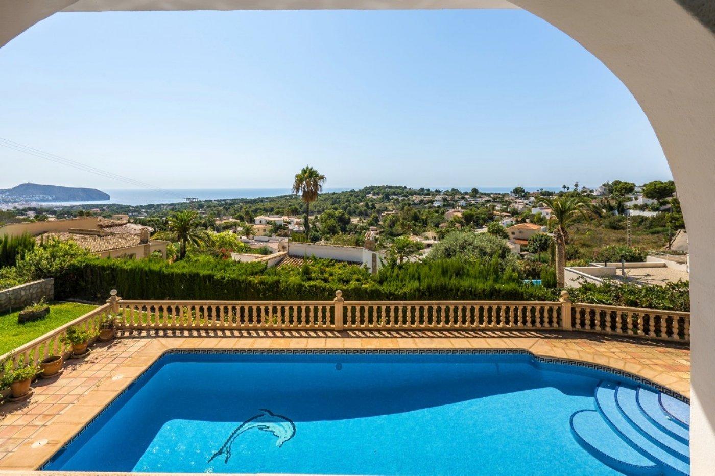 Sea View Villa for sale in Benimeit Moraira